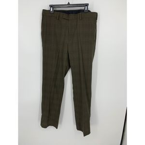 Louis raphael wool blend tailored 35 32 olive pant